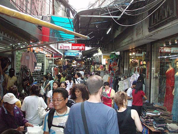 Bangkok's busy streets