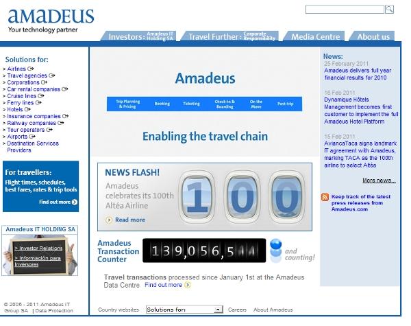 Amadeus Travel GDS