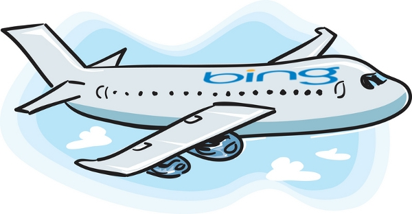 Cartoon travel help Bing