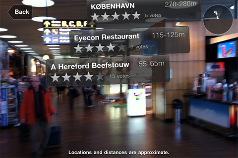 Copenhagen Airport Augmented Reality App