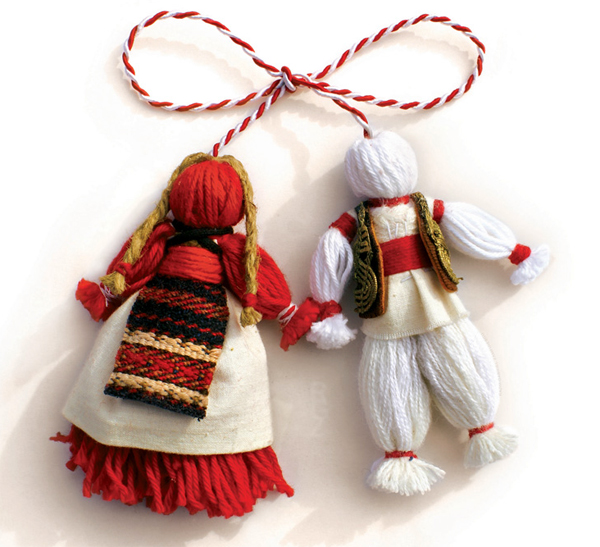 De Mărţisor - traditional festival at the Village Museum, in Bucharest.