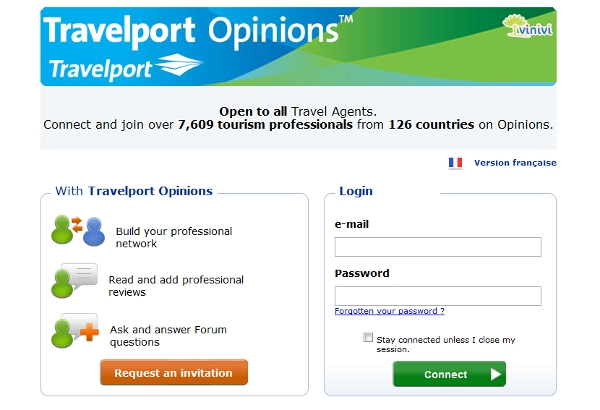 Cute Travelport Opinions landing