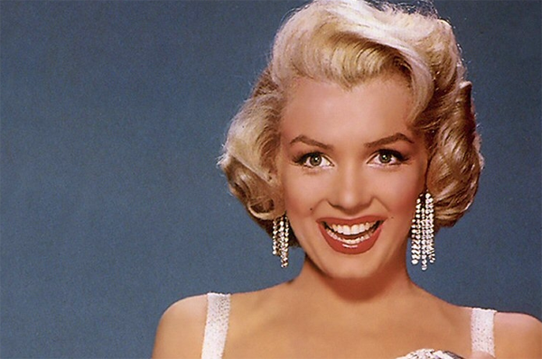 Marilyn Monroe in Diamonds Are a Girl's Best Friend