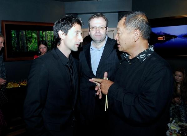 Adrien Brody and Hiroyuki Tagawa last year