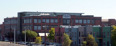 Lonely Planet headquarters in Footscray