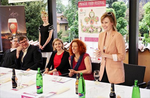 Prague Food Festival, opening ceremony.