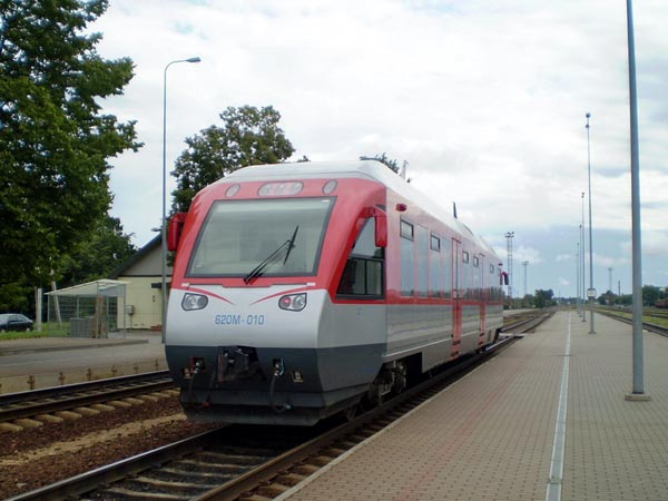 Link between central europe and the baltic states - the rail baltica