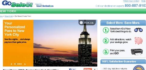 Smart Destinations Go Select