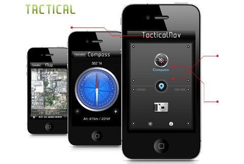 Tactical NAV iPhone app