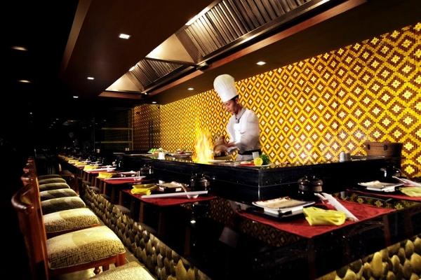 Turi Beach Resort cuisine