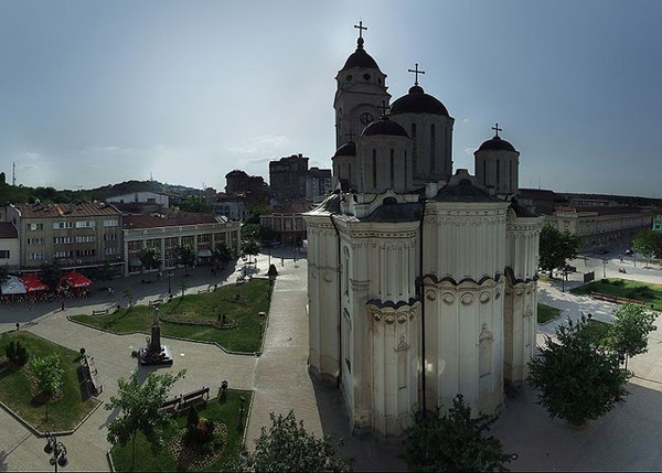 Smederevo's famous church of the assumption