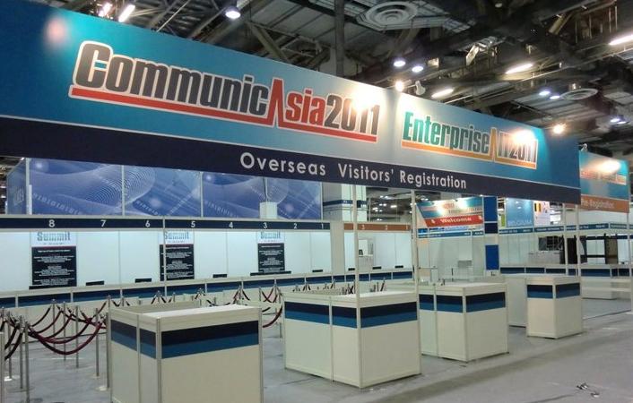 CommunicAsia preparations