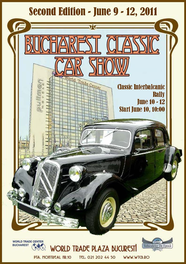 Bucharest Classic Car Show - Antique and classic car show