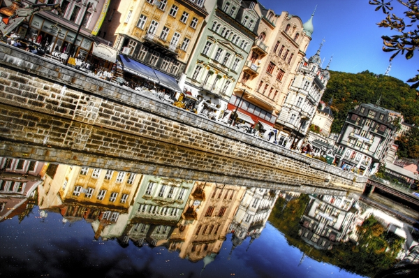 Karlovy Vary in the West