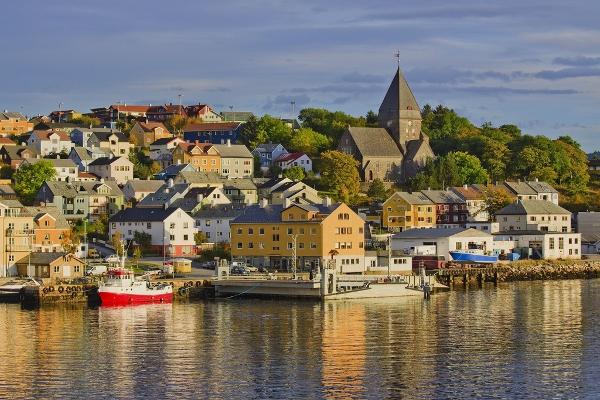 Harbor, Kristiansund, Norway