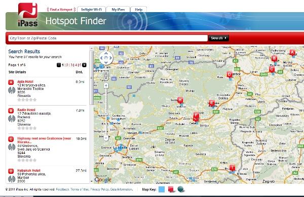 iPass Hotspot Finder