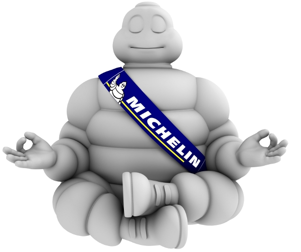 Michelin man adds clairvoyance interface