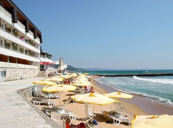 The three star Nympha Hotel near Varna
