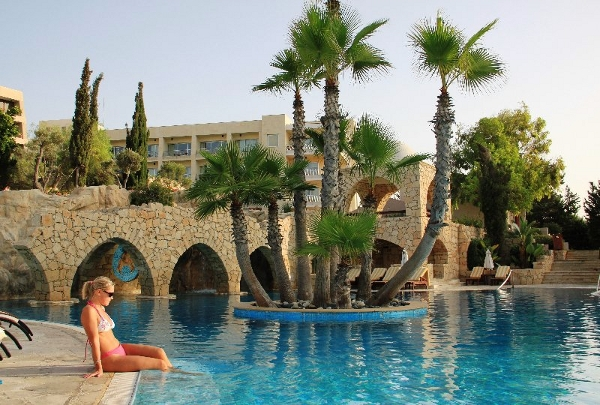 Lagoon Pool of Le Meridien Limassol by Smolyarchuk Irina