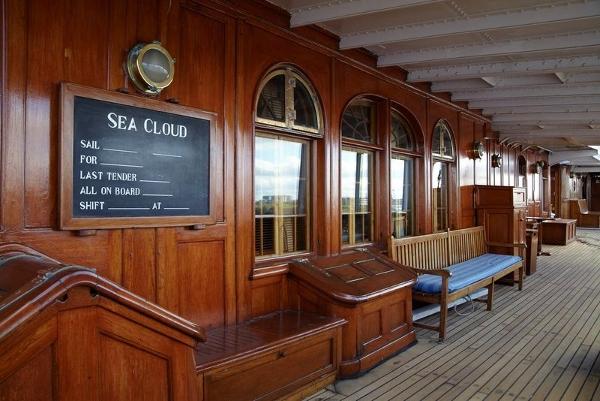 Sea Cloud main deck
