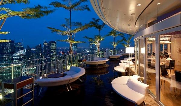 Sky on 57 at the Marina Bay Sands