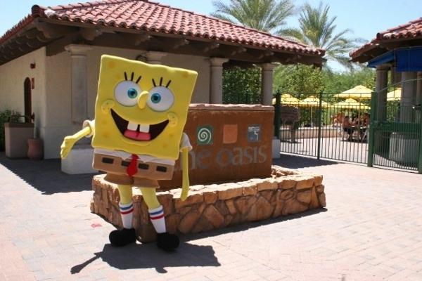 Sponge Bob on a bad hair day