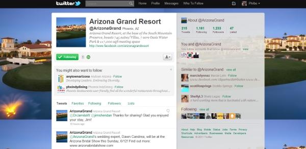 Arizona Grand Report Twitter aspect