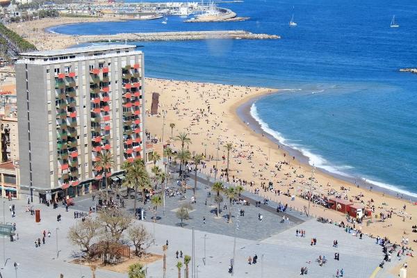 Barcelona beaches