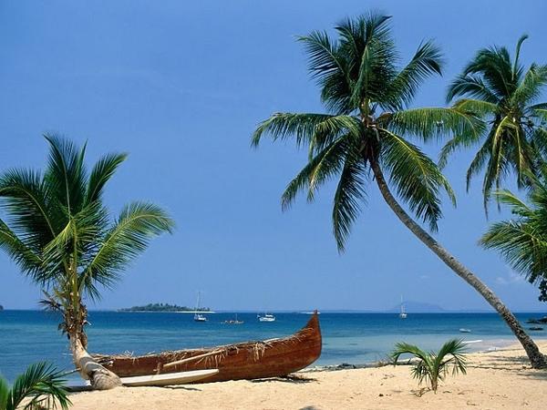 Secluded Madagascar beach