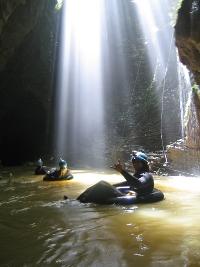 Waitomo Cave Rafting