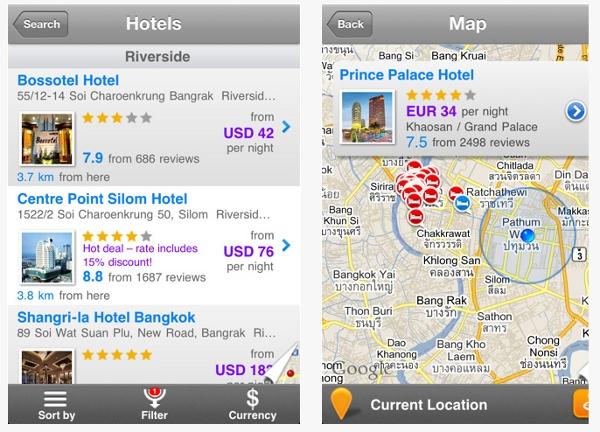 Agoda iPhone app