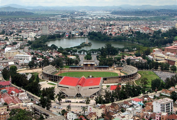 Madagascar's capital, Antananarivo