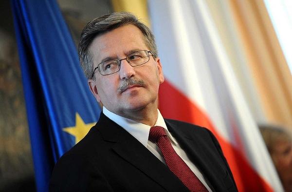 Poland's President Bronisław Komorowski