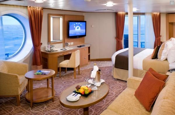 Sky Suite aboard Celebrity Silhouette
