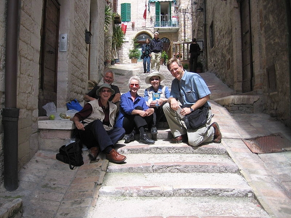 Rick Steves in Italy