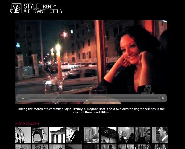 Style website video aspect