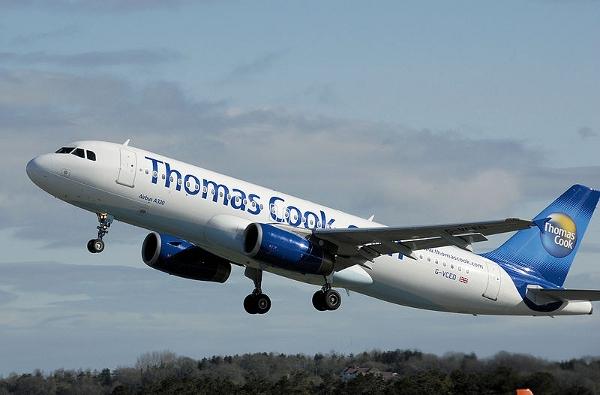 Thomas Cook travel.