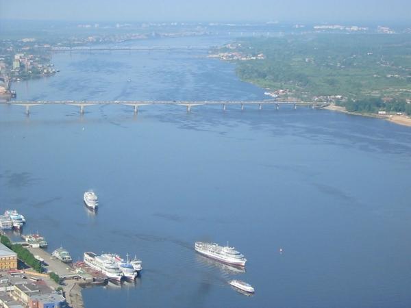 The Volga at Tatarstan