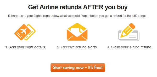 Yapta refunds