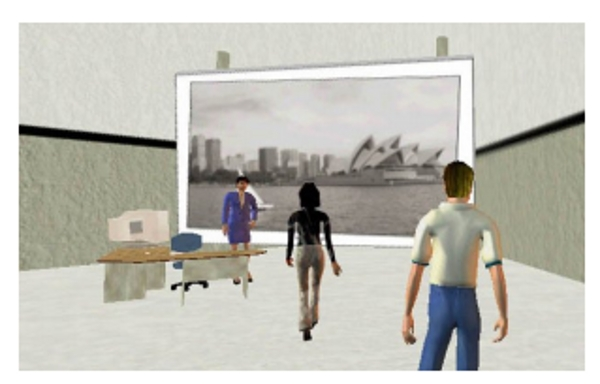 Booking room illustration via Information Technology University of Technology Sydney