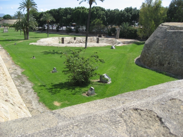 Another view of the Venetian fortress