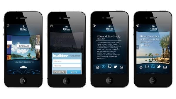 Hilton Apple app