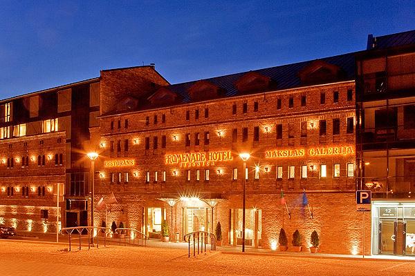 Liepājā, Promenade Hotel