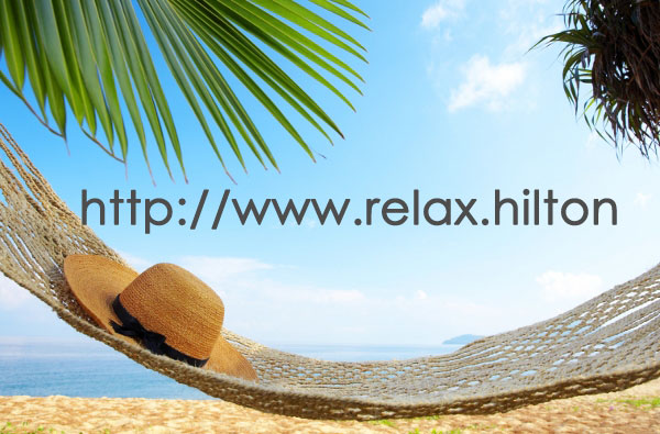 relax.hilton - a possible .brand for Hilton Worldwide.