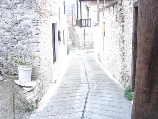 Streets of Omodos Village, Cyprus
