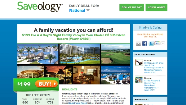 You can go places with Saveology