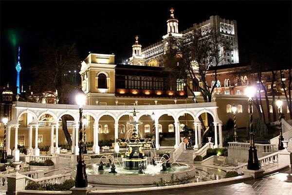 Azerbaijan State Philharmonic Hall.