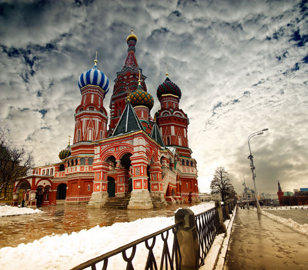 Moscow St. Basil Cathedral