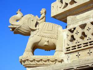 Elephant Sculpture, Rajasthan