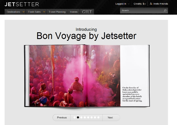 Screen shot of Jetsetter Bon Voyage item